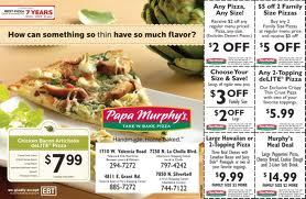 image relating to Papa Murphys Coupons Printable identified as Papa Murphys Coupon codes
